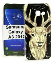 TPU Designdeksel Samsung Galaxy A3 2017 (A320F)