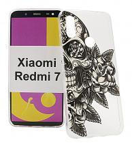 TPU Designdeksel Xiaomi Redmi 7
