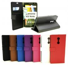 Standcase Wallet Lenovo K6 Note