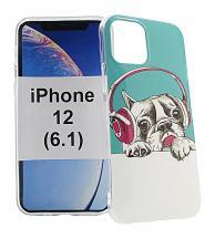 TPU Designdeksel iPhone 12 (6.1)