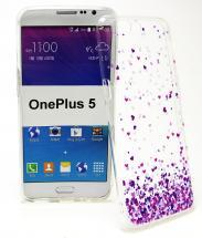 TPU Designdeksel OnePlus 5
