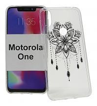 TPU Designdeksel Motorola One