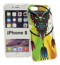 TPU Designdeksel iPhone 8