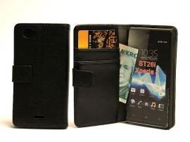 Lommebok-etui Sony Xperia J (ST26i)