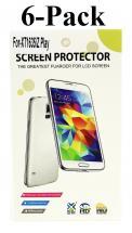 6-pakning Skjermbeskyttelse Lenovo Motorola Moto Z Play