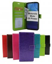 Crazy Horse Wallet Motorola Moto G9 Power