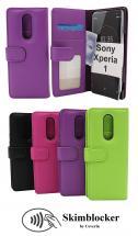 Skimblocker Lommebok-etui Sony Xperia 1 (J9110)