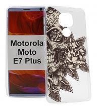 TPU Designdeksel Motorola Moto E7 Plus