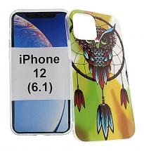 TPU Designdeksel iPhone 12 (6.1)