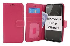 New Standcase Wallet Motorola One Vision