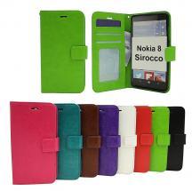 Crazy Horse Wallet Nokia 8 Sirocco