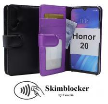 Skimblocker Lommebok-etui Honor 20