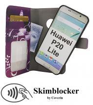 Skimblocker Magnet Designwallet Huawei P20 Lite (ANE-LX1)