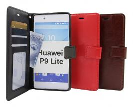 Crazy Horse Wallet Huawei P9 Lite