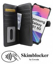 Skimblocker XL Magnet Wallet Samsung Galaxy A51 5G (A516B/DS)