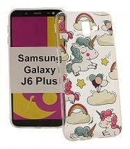 TPU Designdeksel Samsung Galaxy J6 Plus (J610FN/DS)