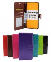 Crazy Horse Wallet Samsung Galaxy A22 5G (SM-A226B)