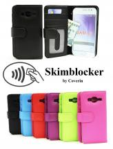 Skimblocker Lommebok-etui Samsung Galaxy J3 2016 (J320F)