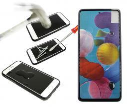 Full Frame Skjermbeskyttelse av glass Samsung Galaxy A51 (A515F/DS)