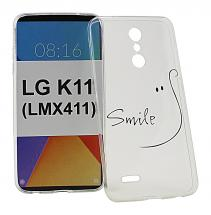 TPU Designdeksel LG K11 (LMX410)
