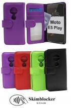 Skimblocker Lommebok-etui Motorola Moto E5 Play