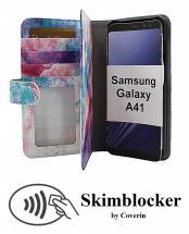 Skimblocker XL Designwallet Samsung Galaxy A41