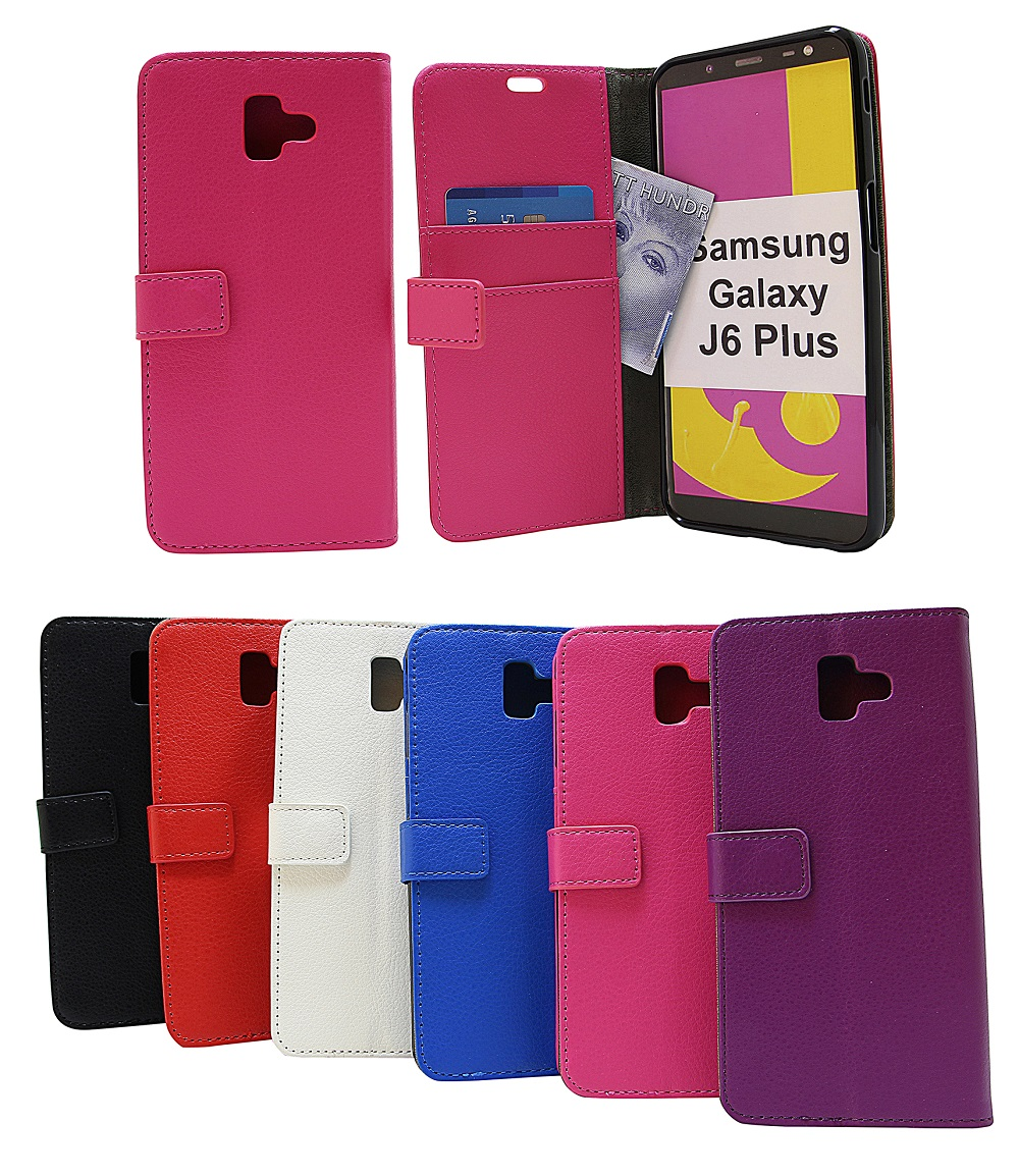 Standcase Wallet Samsung Galaxy J6 Plus (J610FN/DS)